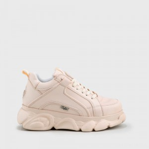 BUFFALO CLD Corin sneaker leather look nude
