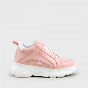 BUFFALO CLD Corin sneaker leather look pink