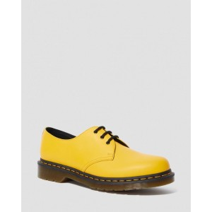 1461 SMOOTH LEATHER OXFORD SHOES - YELLOW SMOOTH