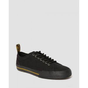 VONTIL CANVAS CASUAL SHOES - BLACK CANVAS