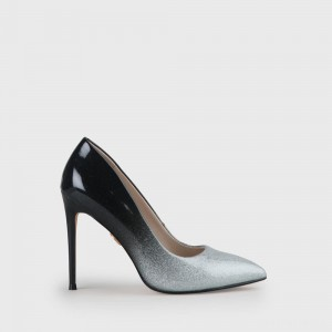 Janet Pump silver/black