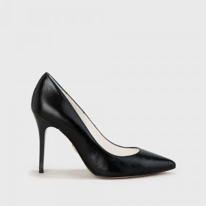Buffalo Pump Leather black