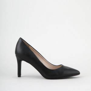 Alivia pumps leather look matte black