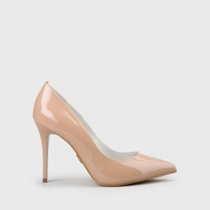 Buffalo Pumps Leather nude