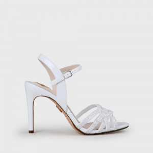 Afterglow High-heeled Sandal white