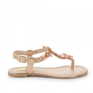 Buffalo Sandals rose gold