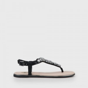 Jennifer Sandal black