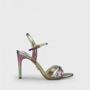 Anja Heeled Sandal multi