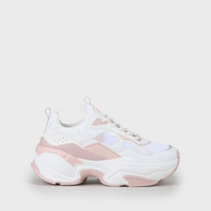 Crevis P1 sneaker cream/rose