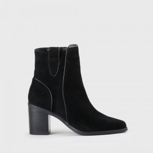 Flicka Ankle Boot faux leather black
