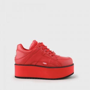 Rising Towers sneaker nappa red
