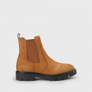 Fillie Chelsea Boot leather cognac