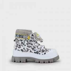 Aspha Hi boot leopard white