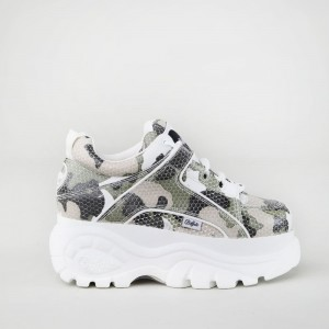 Classic Kick leather camouflage