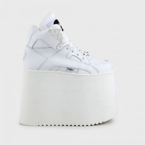 Rising Towers super high nubuck white