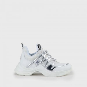 Cavi Sneaker faux-leather white