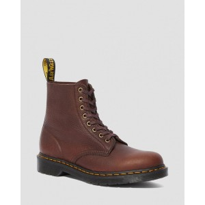 1460 PASCAL AMBASSADOR LEATHER LACE UP BOOTS - CASK AMBASSADOR