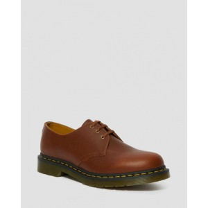 1461 CLASSICO LEATHER OXFORD SHOES - BROWN CLASSICO