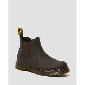 JUNIOR 2976 WILDHORSE LEATHER CHELSEA BOOTS - GAUCHO WILDHORSE LAMPER
