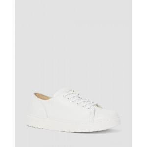 DANTE LEATHER CASUAL SHOES - WHITE VENICE
